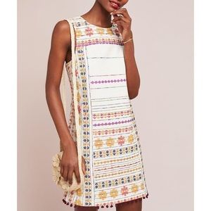 Anthropologie Akemi Kin Prudence Embroidered Dress